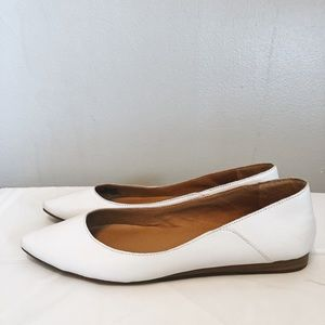 Lucky Brand Bylando Leather Pointed Toe Flats
